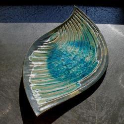 patera,talerz,ceramika,dekoracja - Ceramika i szkło - Wyposażenie wnętrz