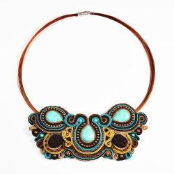 elegancki,ekskluzywny,oryginalny - Naszyjniki - Biżuteria