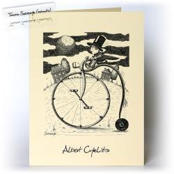 rower,bicykl,dla niego,kartka dla mężczyzny - Kartki okolicznościowe - Akcesoria