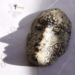 maska,ceramika,unikat,rękodzieło,prezent, - Ceramika i szkło - Wyposażenie wnętrz