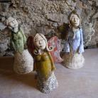 Ceramika i szkło anioł,dekoracja wnętrz,figurka