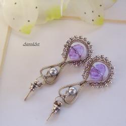 kolczyki,swarowski,na uszy - Kolczyki - Biżuteria
